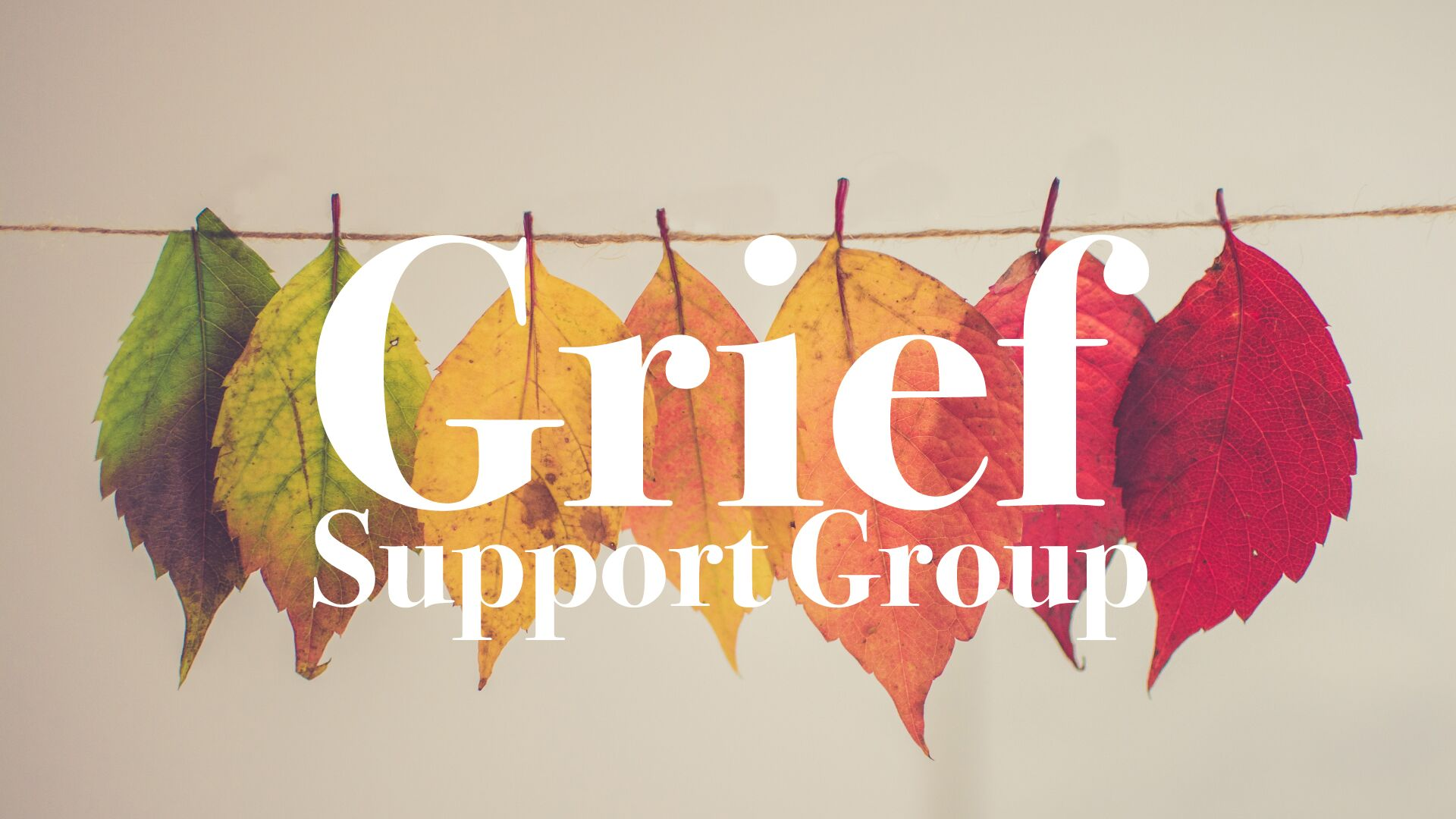 Grief Support Group at The Heights Fellowship